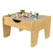 KidKraft Children Activity Table Reversible 2 Sided Play Surface Gray NaturalNEW