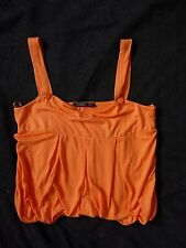 Women's George jersey   top orange color size 12 BNWOT