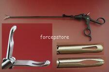 New 5x330mm Laparoscopic Appendiceal Appendix Forceps Laparoscopy