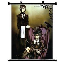 Black Butler Anime Fabric Wall Scroll Poster 16 x 20 Inches