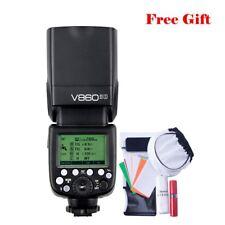 Camera Flash Speedlite For Sony A7RIII A7RII A6500 Godox V860II-S 2.4G TTL HSS