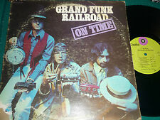 "LP GRAND FUNK RAILROAD ""ON TIME"" ORIG US"
