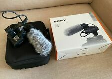 Sony XLR-K2M Camera XLR Adapter Kit and Microphone - DSLR Mirrorless Shoe Mount
