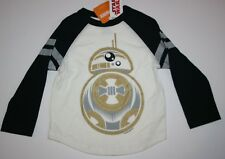NEW Gymboree Boys Top BB 8 Tee Galactic Winter 3 year Star Wars Raglan Long Slee