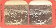 Louis Heller Stereoview of the Modoc War 1873 – Capt Jack's Stronghold in Lava B