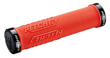 Ritchey Wcs Locking Truegrip X Lock-On Mountain Bike Mtb Grips Red