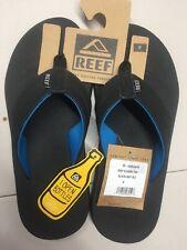 Reef Men's Sandals Element TQT, Black/Light Blue Size 8 Men's