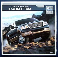 Prospekt brochure new 2004 Ford F-150 Pickup (USA)