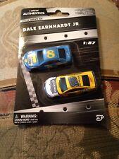 Nascar Diecast Dale Earnhardt Jr  Nascar Authentics 2 Pack 1:87