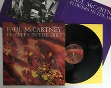Paul McCartney - Flowers In The Dirt - 1989 US 1st Press (NM) Ultrasonic Clean