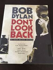"""Bob Dylan - Don't Look Back, 65 Tour Deluxe Edition"" (2 Discs & Book, 2006) VGC"