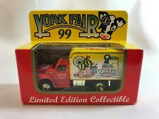 York Fair Limited Edition 1999 Matchbox Delivery Truck