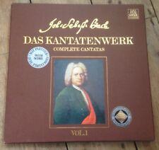1971 DECCA TELEFUNKEN J.S BACH DAS KANTATENWERK 2 LP BOXSET VOL.1 GERMAN