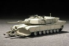 Trumpeter 1/72 US M1A1 Abrams Mine Clearing Tank TRP7277