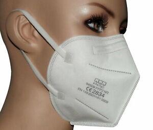 20x FFP2 Maske Mundschutz Schutzmaske Atemschutz CE zertifiz. Mund Nase Schutz