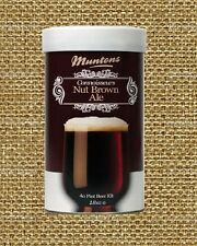 BEER KIT MUNTONS NUT BROWN ALE BREWING INGREDIENTS KIT CANNED LME EXTRACT KIT MR