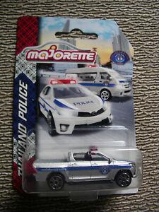 Majorette Thailand Police Toyota Hilux Revo 1/58 New
