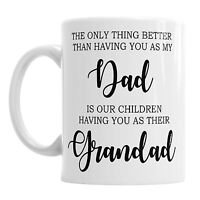 Father's Day Dad Daddy Grandad Novelty Coffee Mug Office Tea Cup Present Gift