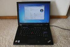 Lenovo ThinkPad T500 Laptop 2.4GHZ 2GB DDR3 160GB Windows 7.