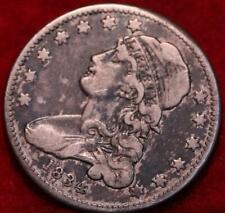 1834 Philadelphia Mint Silver Capped Bust Quarter