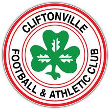 "Cliftonville FC Northern Ireland Football Car Bumper Vinyl Sticker Decal 4.6"""