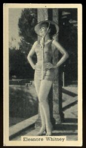 Tobacco Card, Murray Sons, BATHING BELLES, 1939, Eleanore Whitney, #22