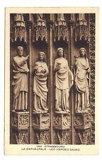 strasbourg ,la cathédrale , les vierges sages