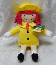 "New Kohls Cares MADELINE 14"" Plush Doll Toy Stuffed 2016 EUC Yellow Hat & Dress"