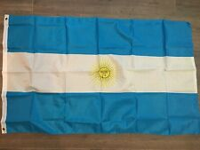 3X5 Argentina Flag Premium Polyester Grommets National Banner Usa Shipping