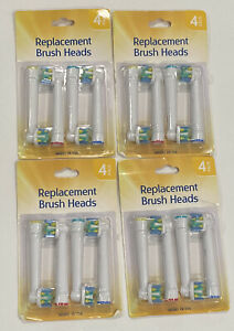 Replacement Brush Heads Soft Bristles EB-25A 4 Packs Of 4 NEW