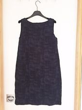 Eileen Fisher navy organic cotton and tencel dress, new with tags, RRP £235