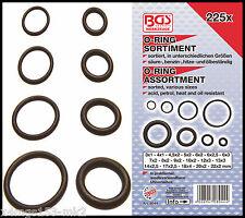 BGS - O Ring Assortment - 3-22 mm Ø - NBR Rubber, Acid, petrol, heat, oil - 8044