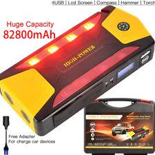 82800mAh Car Jump Starter Pack Portable Charger Booster Power Bank Battery SOS