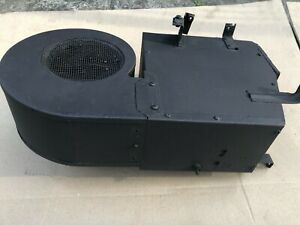 Jaguar Etype Heater, including working heater fan motor and assembly and heater