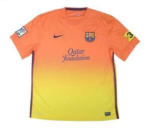 Barcelona 2012-13 Original Away Shirt (Excellent) XL Soccer Jersey