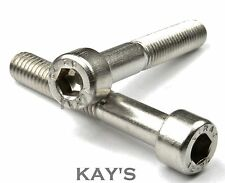 Stainless Steel Cap Screw Allen Head Bolts x 100 Mixed Pack. Boat, Kit Car....