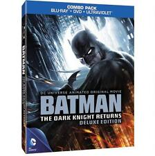 DCU: Batman: The Dark Knight Returns Deluxe Edition(Blu-ray) Blu-ray