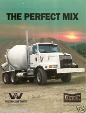 Truck Brochure - Western Star Constellation - London Cement Mixer - 1998 (TB41)