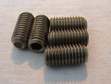 M10 x 20 mm A2 Stainless Steel Grub Screws Socket Cup Point Screw Din 916