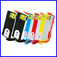 5 Pack Compatible For ink cartridges for HP 920XL Black Cyan Magenta Yellow Ink