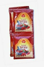 10 pieces (1 bag) Ready to Eat Sambal Terasi Brand Abc Shrimp Sauce