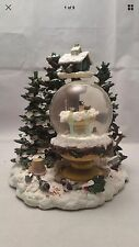 Amazing Pfaltzgraff Winterwood 1999 Musical Snow Globe-1 Day Sale!
