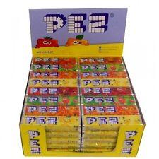 FULL BOX 20 Units Original PEZ Fruit Flavored Retro Candy Candies Refill