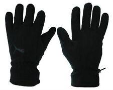 Gants d'hiver noir en polyester pour homme