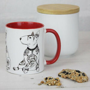 English Bull Terrier Gifts: English Bull Terrier Mug Featuring Our Original Art