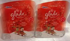 4 Glade Scented Oil Plugins Refills Apple Cinnamon Cheer