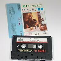 HIT MUSIC USA 88 VOL 3 THOMSUN IMPORT CASSETTE TAPE ALBUM JACKSON DEBBIE GIBSON