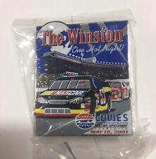 Lowes Motor Speedway The Winston 5/19/01 Won By Jeff Gordon Nascar Pin