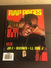 Rap Pages Magazine Hip Hop Oct 1997 Sean Puff Daddy RARE! XXL Source Vibe