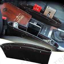 2PC Catch Catcher Boxes Caddy Car Seat Gap Pocket Laptop Phone Storage Organizer